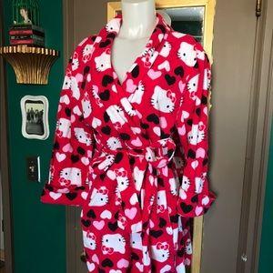 Hello kitty comfy robe